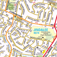 Map Australia 4074.Map Of Jindalee Qld 4074 Census Demographics Melway Sydway